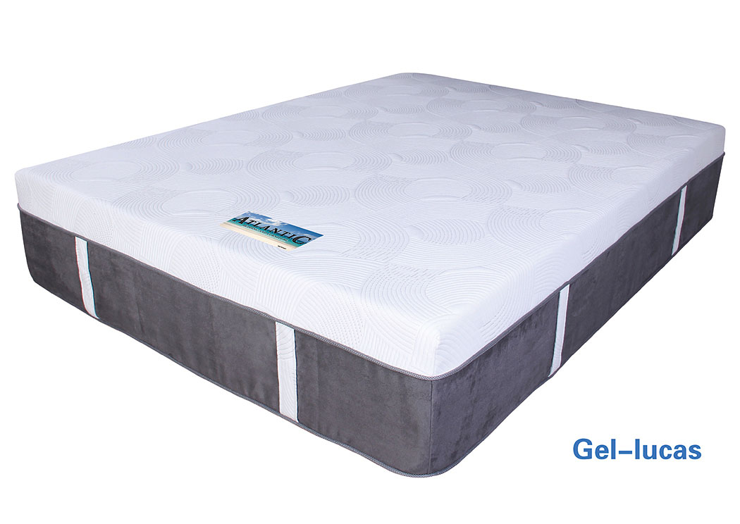 Atlantic Bedding And Furniture Fayetteville Gel Lucas Memory Foam Queen Mattress