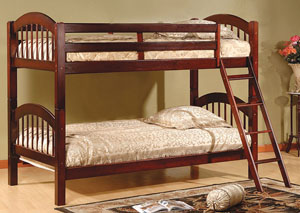 Twin Solid Wood Bunk Beds