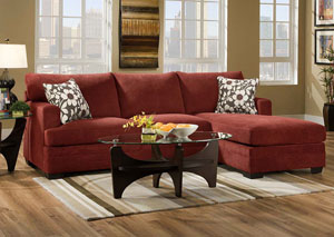 Caprice Mulberry Sectional