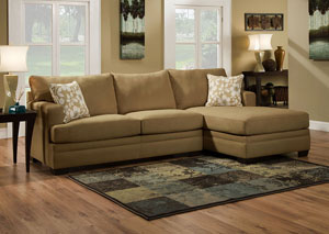 Caprice Truffle Sectional