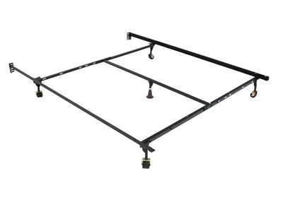 Queen/Full/Twin Metal Frame Adjustable Rail