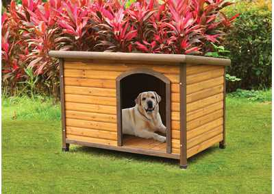 Rory Light Oak Pet House