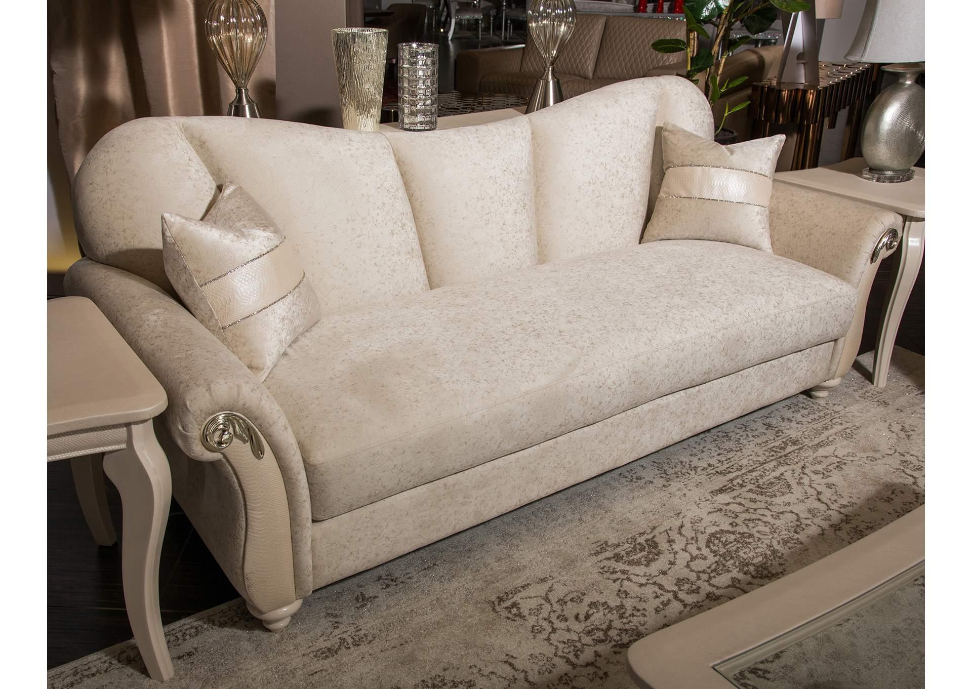 Corner Furniture Sunset Terrace Creamy Pearl Sofa