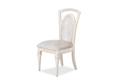 Overture Champagne Upholstered Side Chair