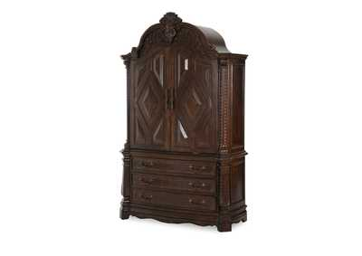 Windsor Court Vintage Fruitwood Armoire