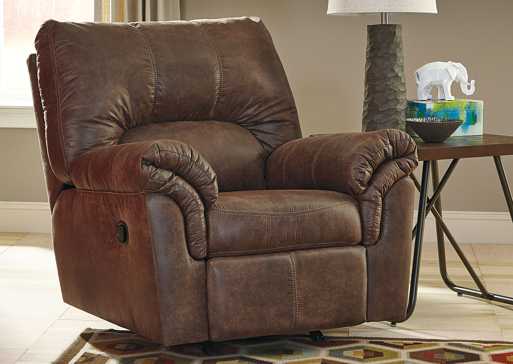 Bladen Coffee Rocker Recliner,ABF Signature Design by Ashley