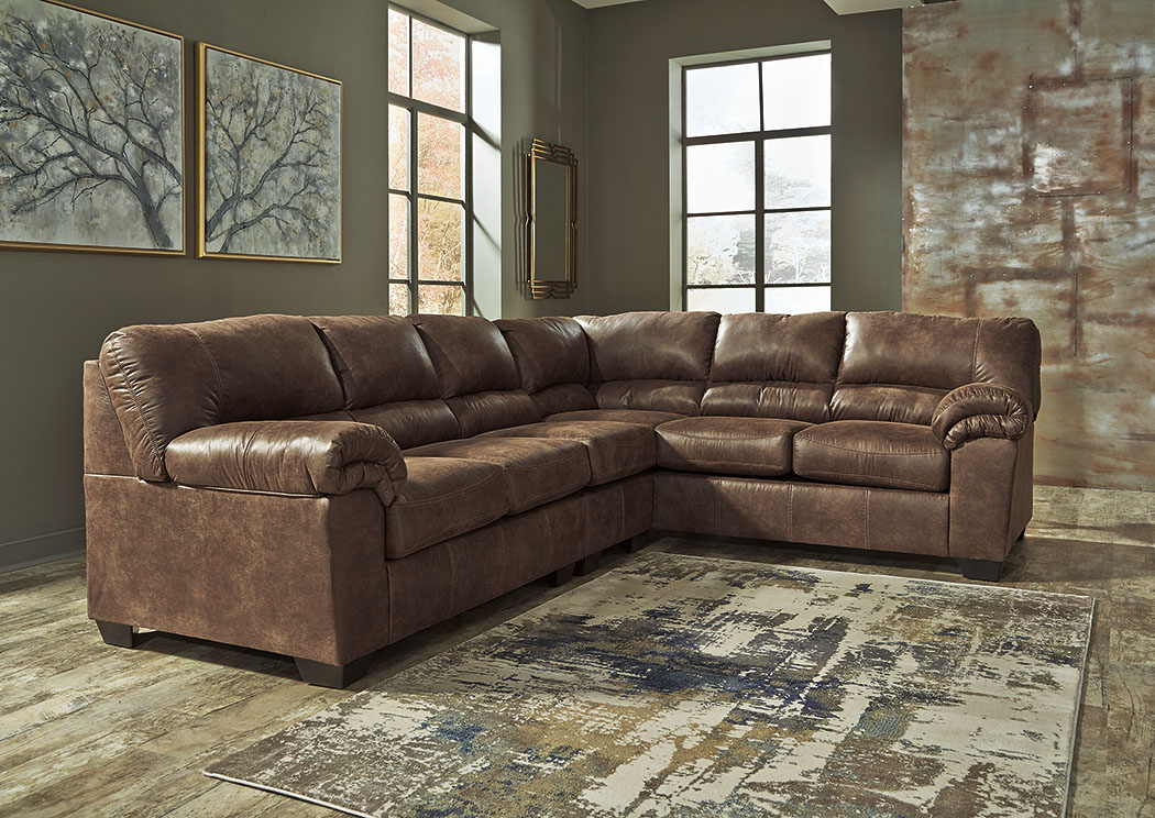 Bladen Coffee Left Facing Extended Sectional,ABF Signature Design by Ashley