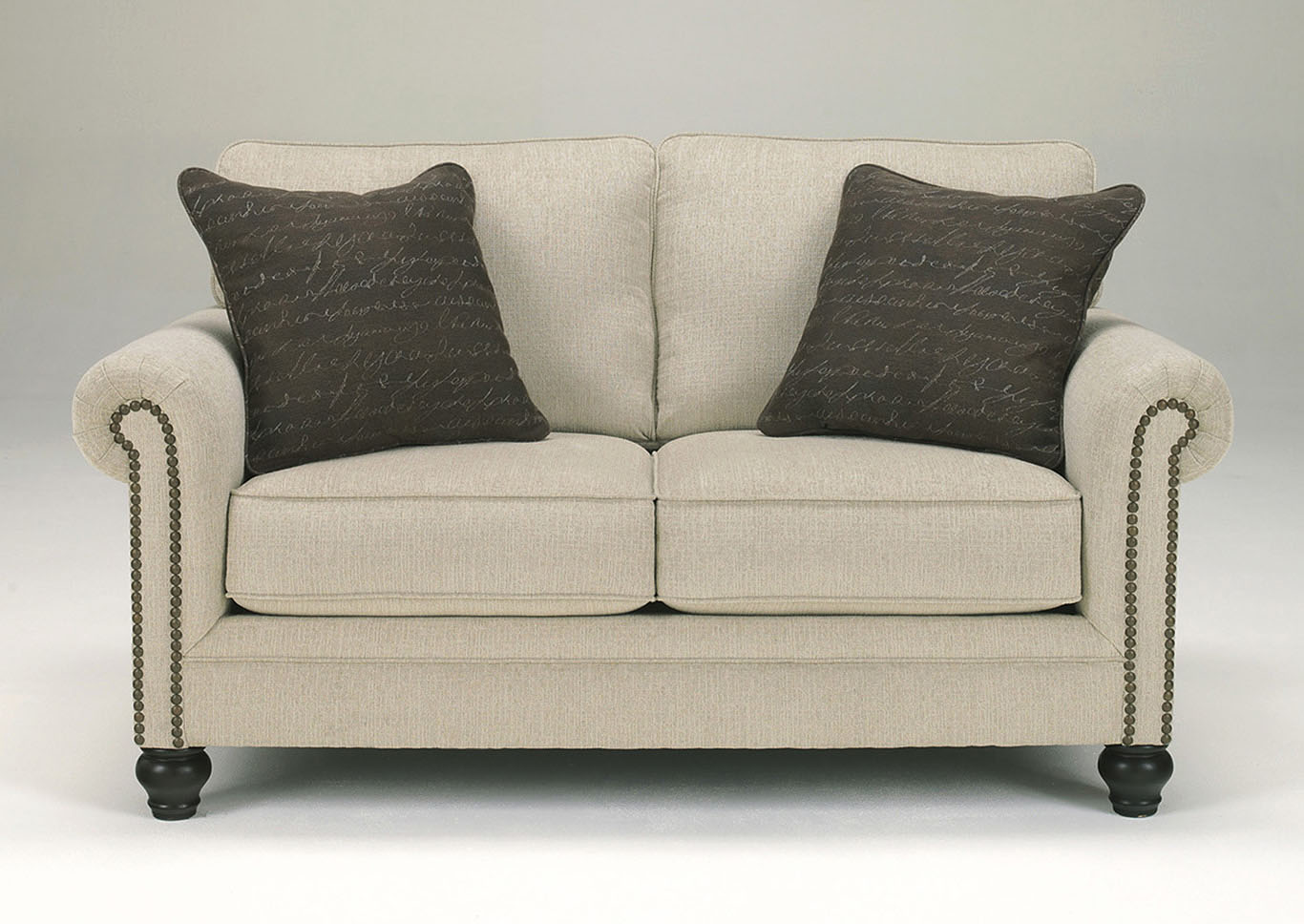 Milari Linen Loveseat,Signature Design By Ashley