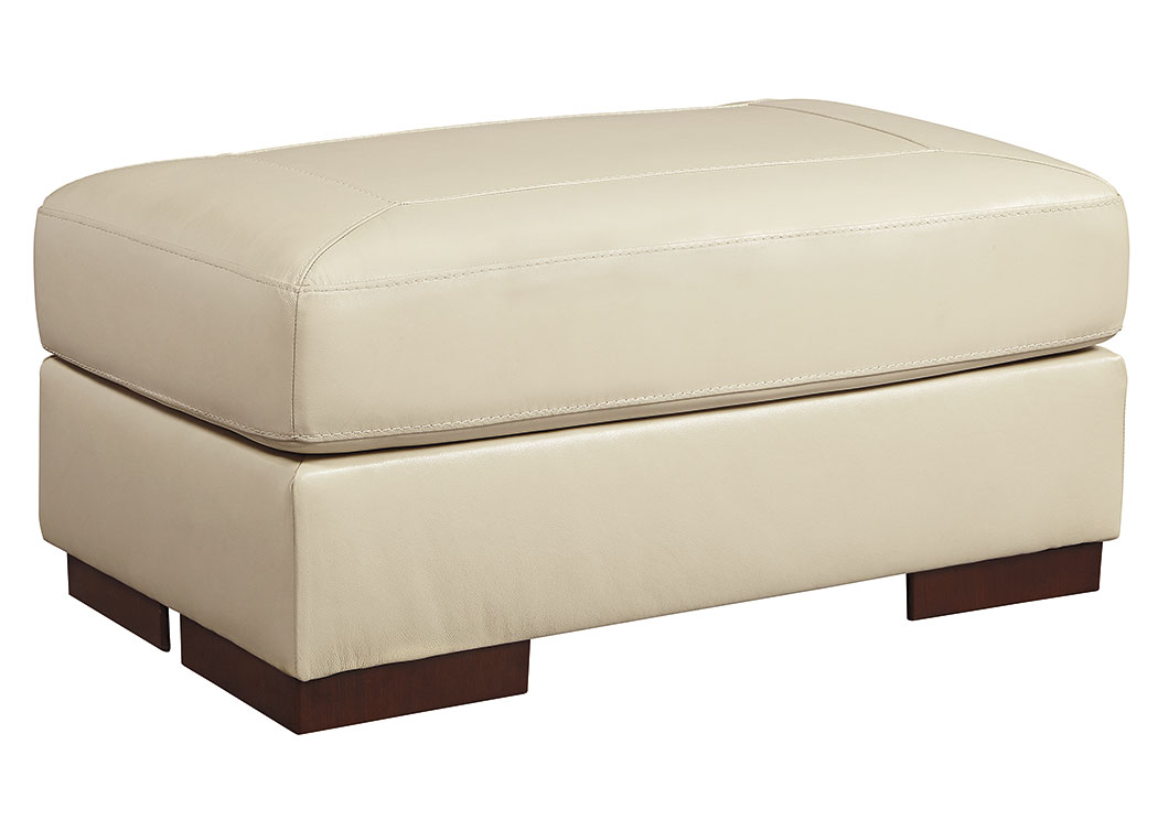 Islebrook Vanilla Ottoman,Signature Design By Ashley