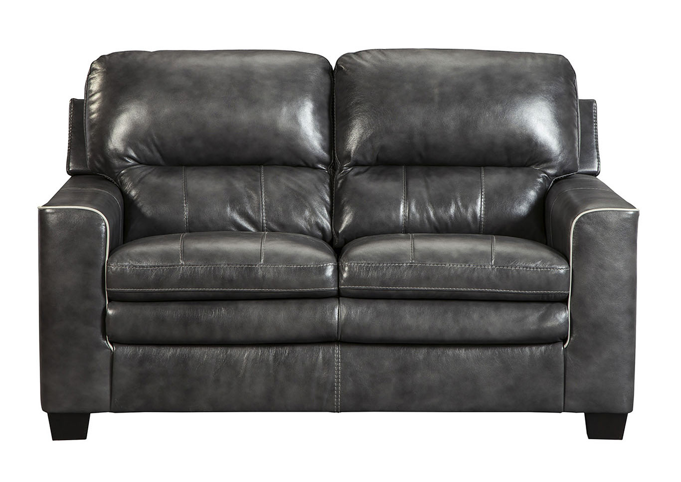 Gleason Charcoal Loveseat,Signature Design By Ashley