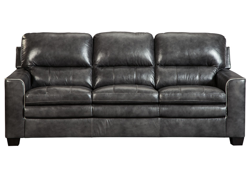 Gleason Charcoal Sofa,Signature Design By Ashley