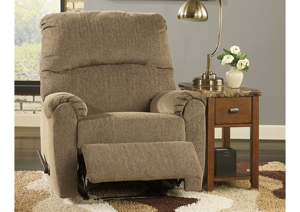 Pranit Cork Zero Wall Recliner,ABF Signature Design by Ashley