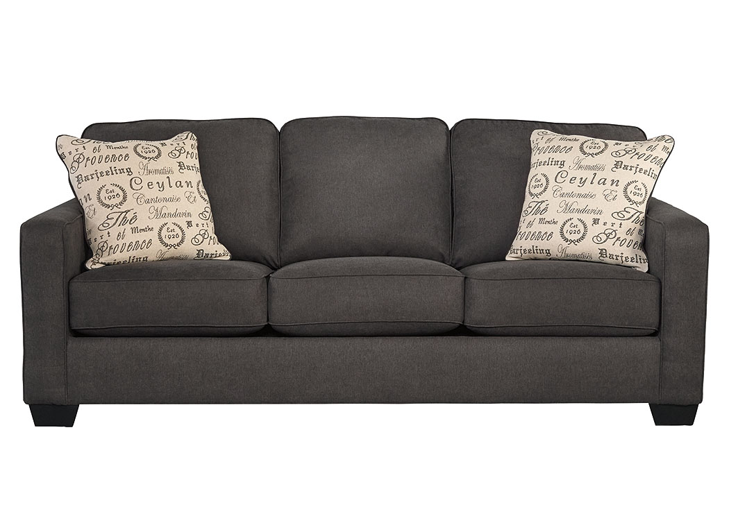 Alenya Charcoal Sofa,ABF Signature Design by Ashley