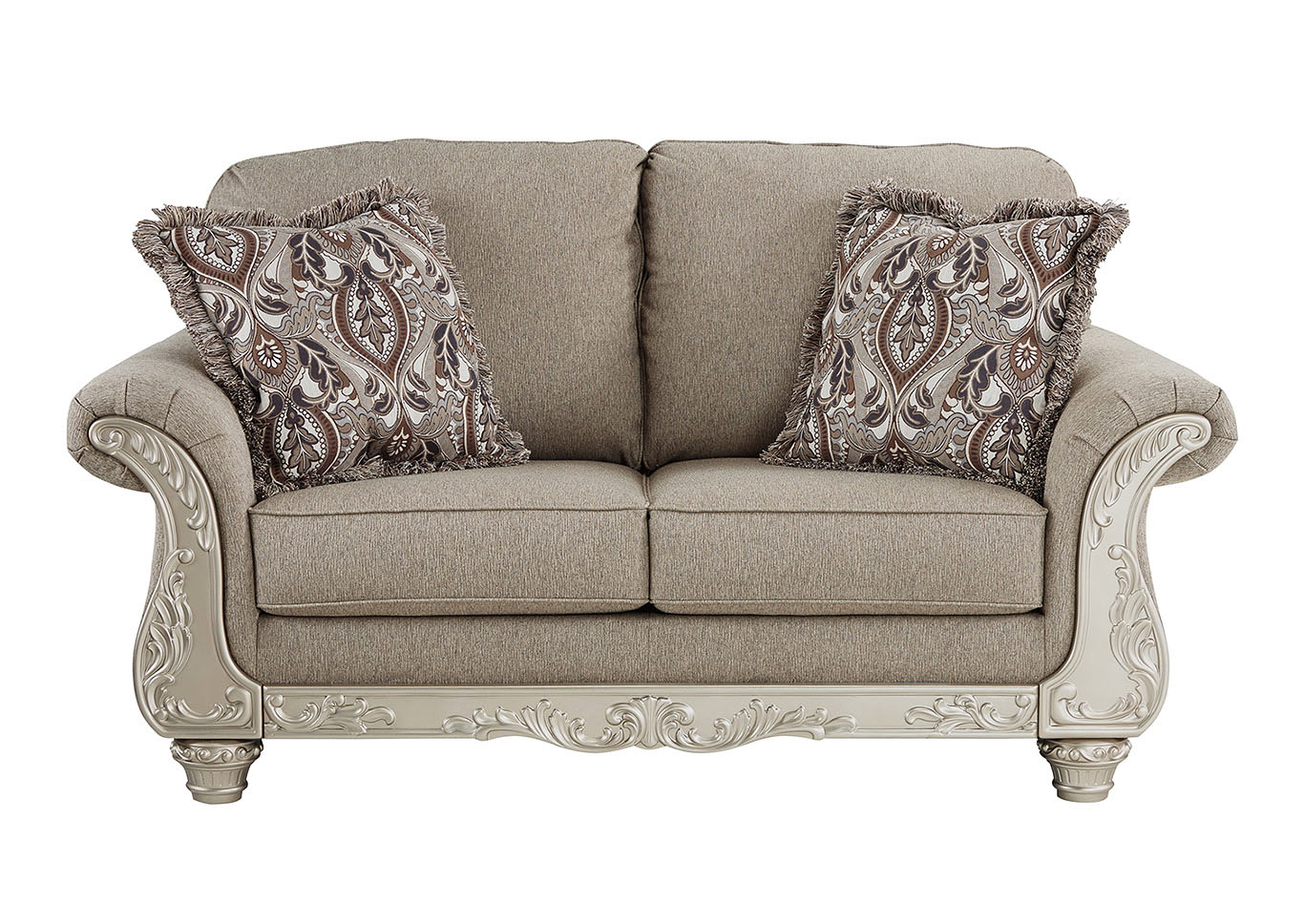 Gailian Smoke Loveseat,Signature Design By Ashley