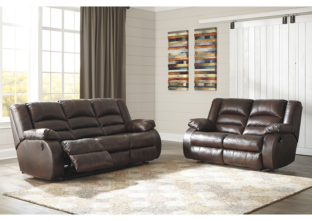 Levelland Cafe Power Reclining Sofa & Loveseat,ABF Signature Design by Ashley