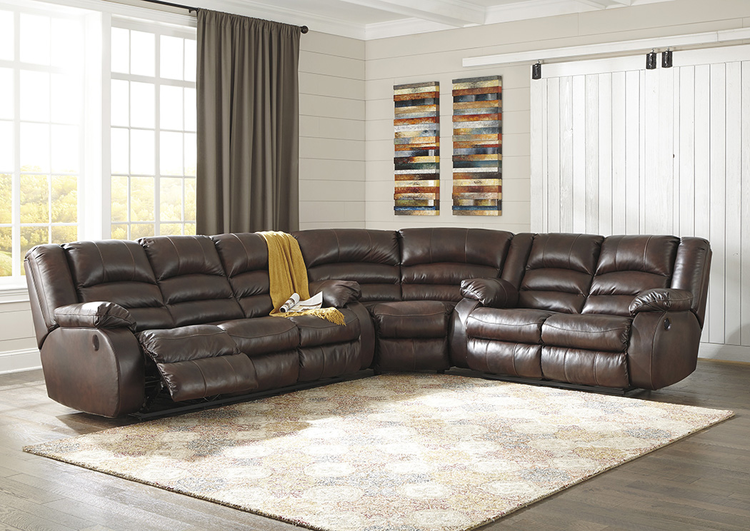 Levelland Cafe Power Reclining Sectional,Signature Design by Ashley