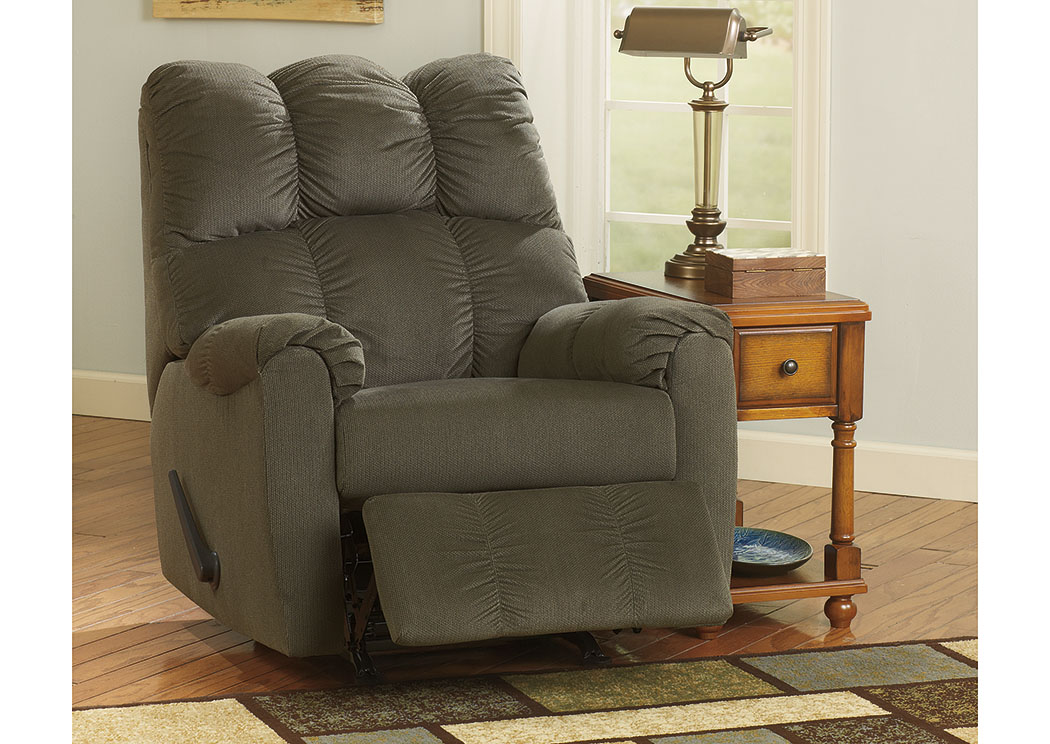 Raulo Moss Rocker Recliner,Signature Design By Ashley