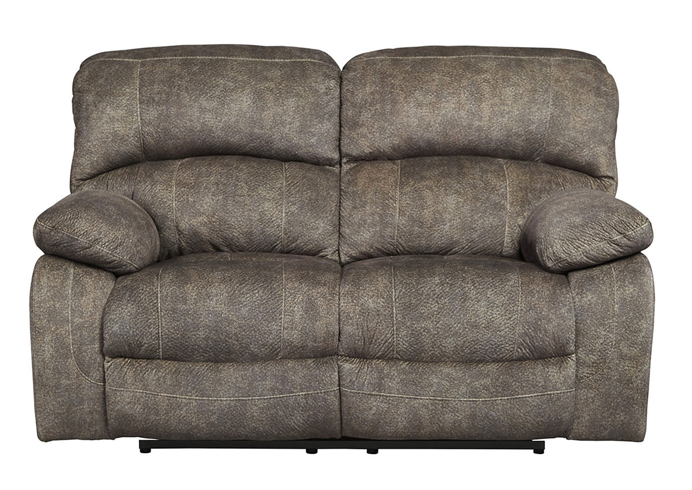 Cannelton Tri-Tone Gray Power Reclining Loveseat w/Adjustable Headrest,Signature Design By Ashley