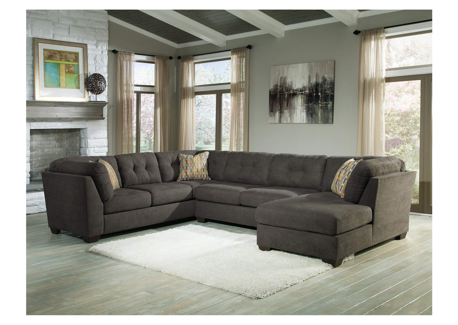 couch potatoes furniture stores austin texas delta city steel right arm facing corner chaise sectional