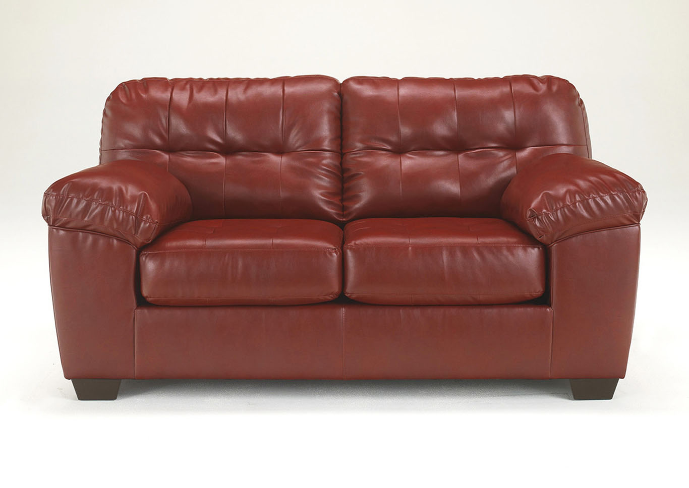 Alliston DuraBlend Salsa Loveseat,ABF Signature Design by Ashley