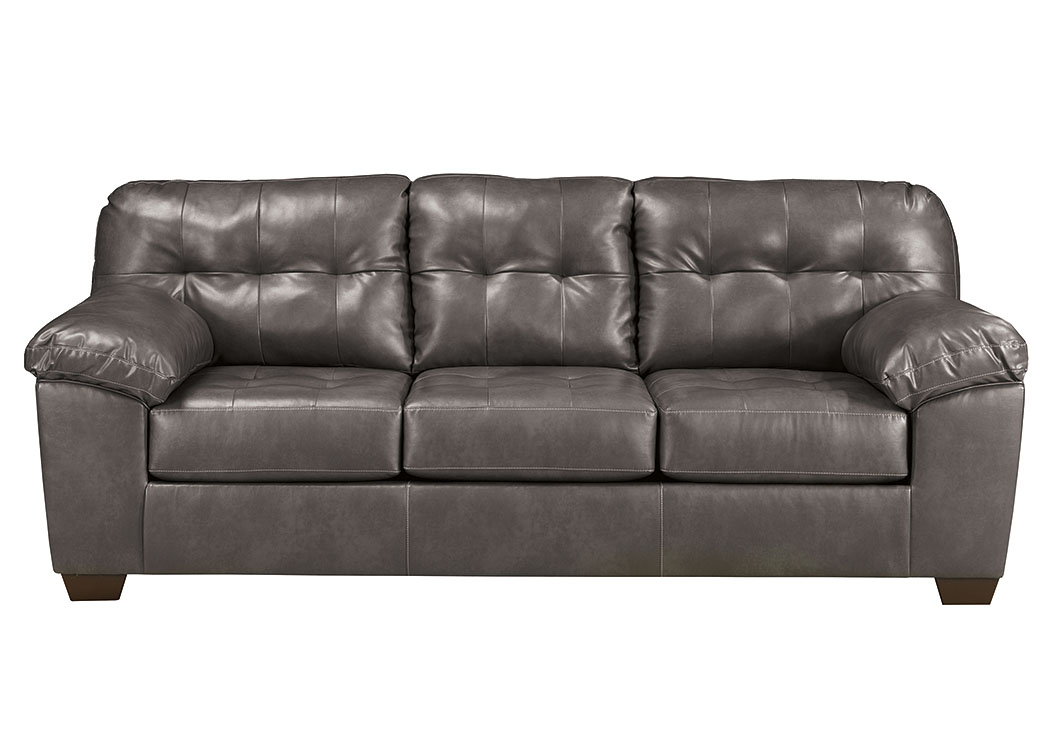 Alliston DuraBlend Gray Sofa,ABF Signature Design by Ashley
