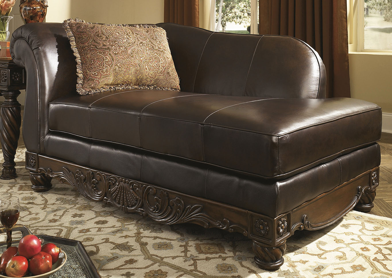 north shore dark brown corner furniture reviews stores vancouver ashley living room