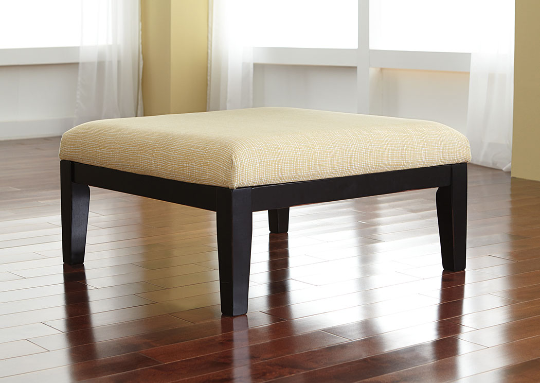 Chamberly Alloy Oversized Accent Ottoman,Signature Design By Ashley