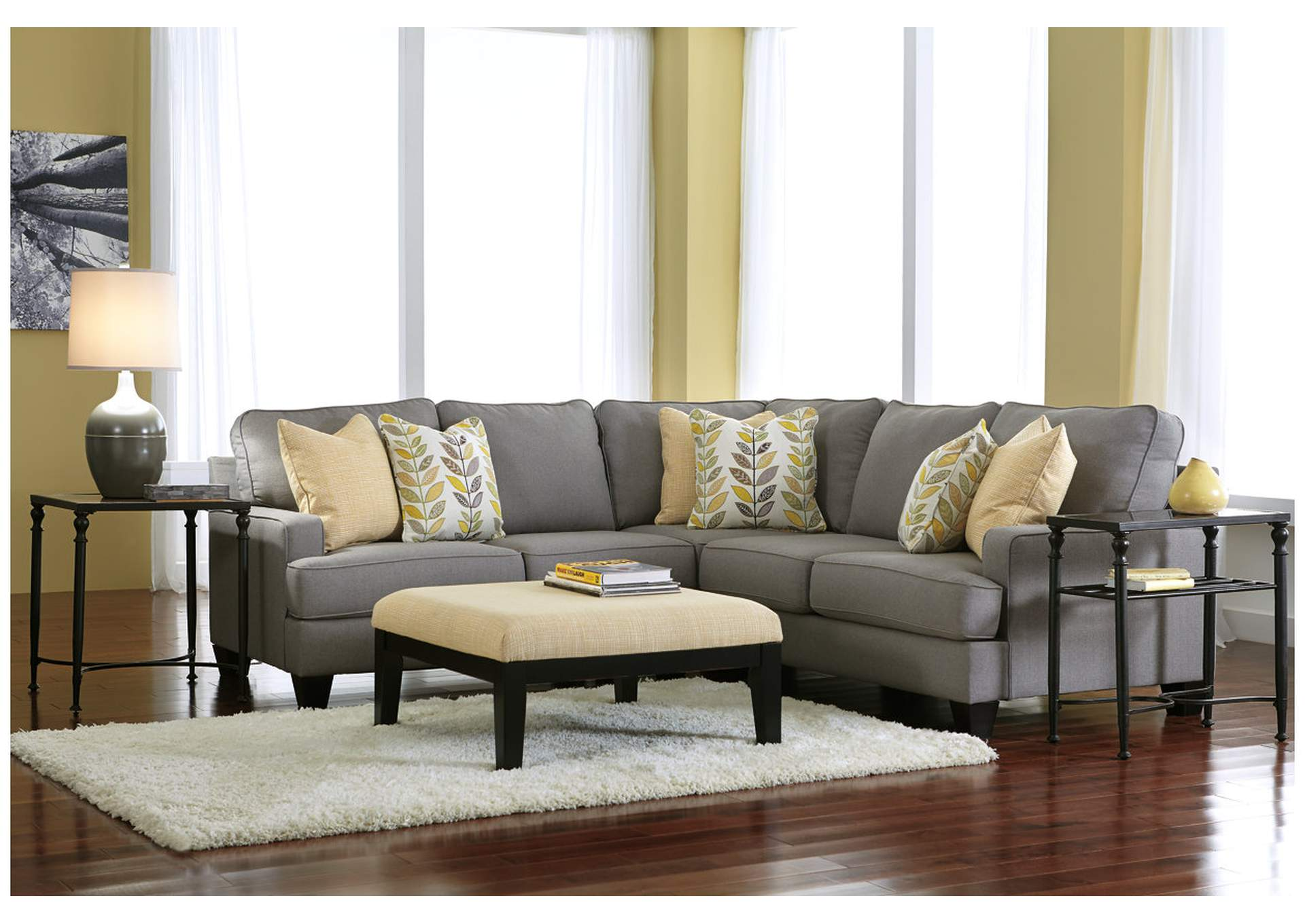 Chamberly Alloy Sectional,Signature Design by Ashley