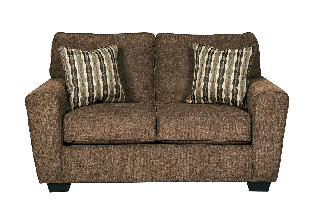 Landoff Walnut Loveseat,Signature Design by Ashley