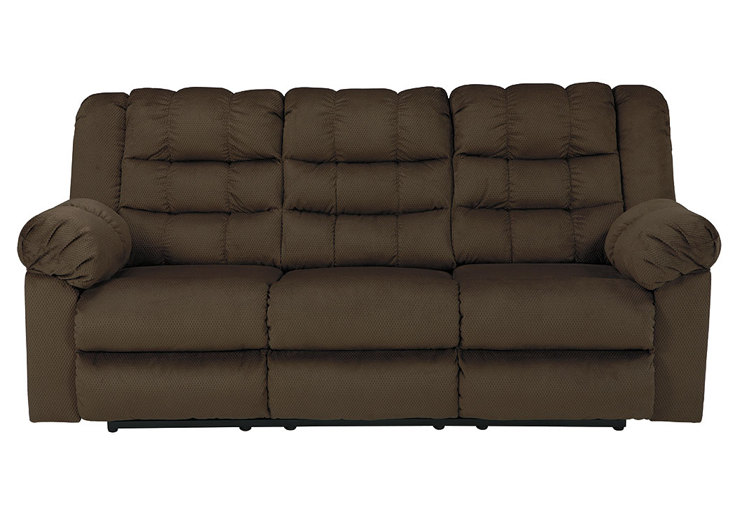 Mort Umber Reclining Sofa,ABF Signature Design by Ashley