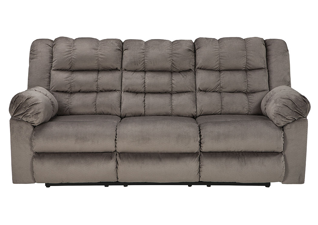 Mort Charcoal Reclining Sofa,ABF Signature Design by Ashley