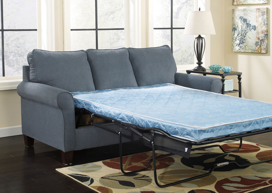 Zeth Denim Full Sofa Sleeper,ABF Signature Design by Ashley