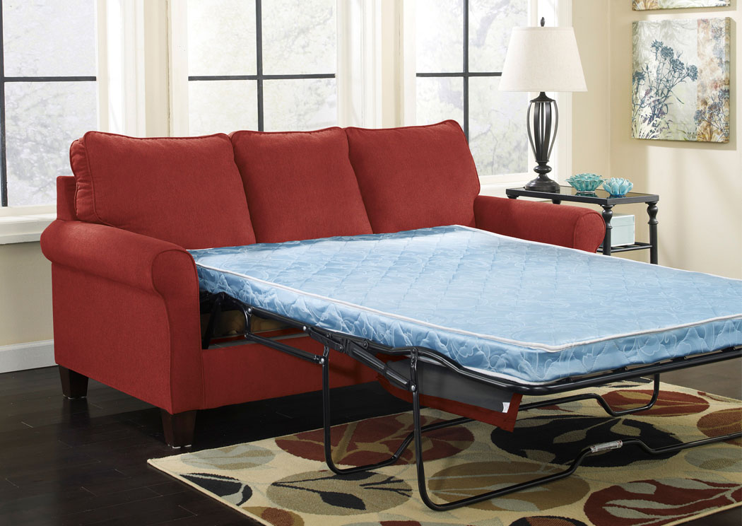 Zeth Crimson Full Sofa Sleeper,ABF Signature Design by Ashley