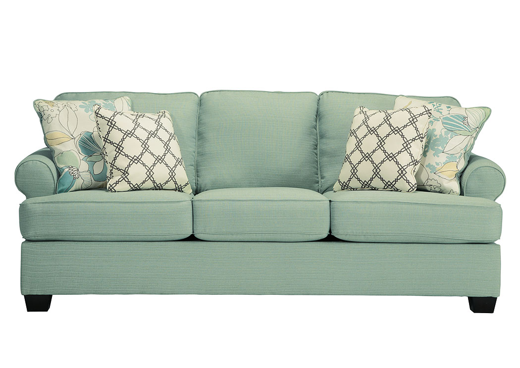 Daystar Seafoam Sofa,ABF Signature Design by Ashley