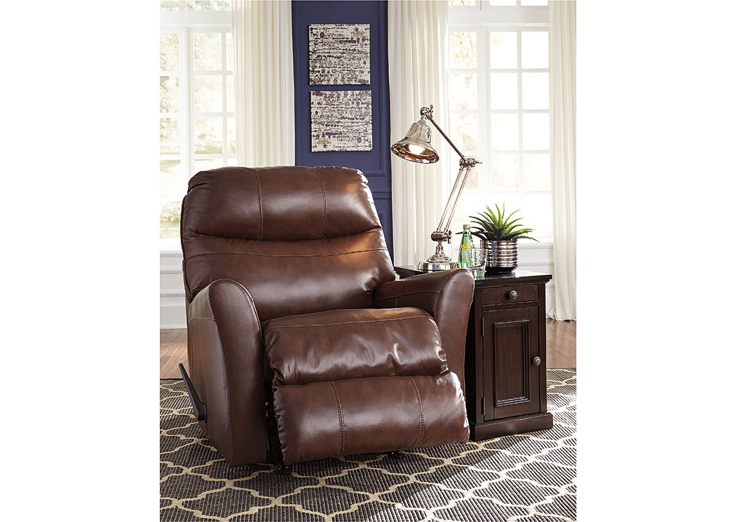 Pranav Brown Rocker Recliner,Signature Design by Ashley