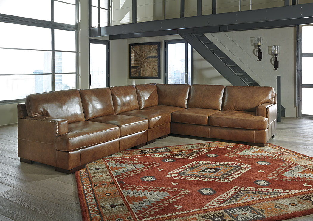 Vincenzo Nutmeg Right Facing Sofa SectionalSignature Design By Ashley