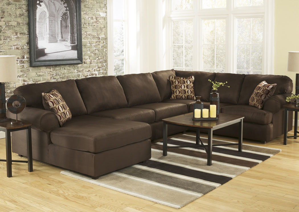 Cowan Cafe Left Facing Chaise End Sectional,Signature Design by Ashley