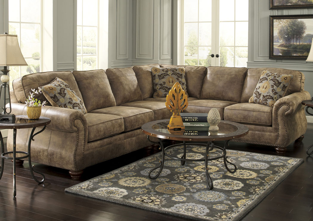 Larkinhurst Earth Extended Sectional,Signature Design By Ashley