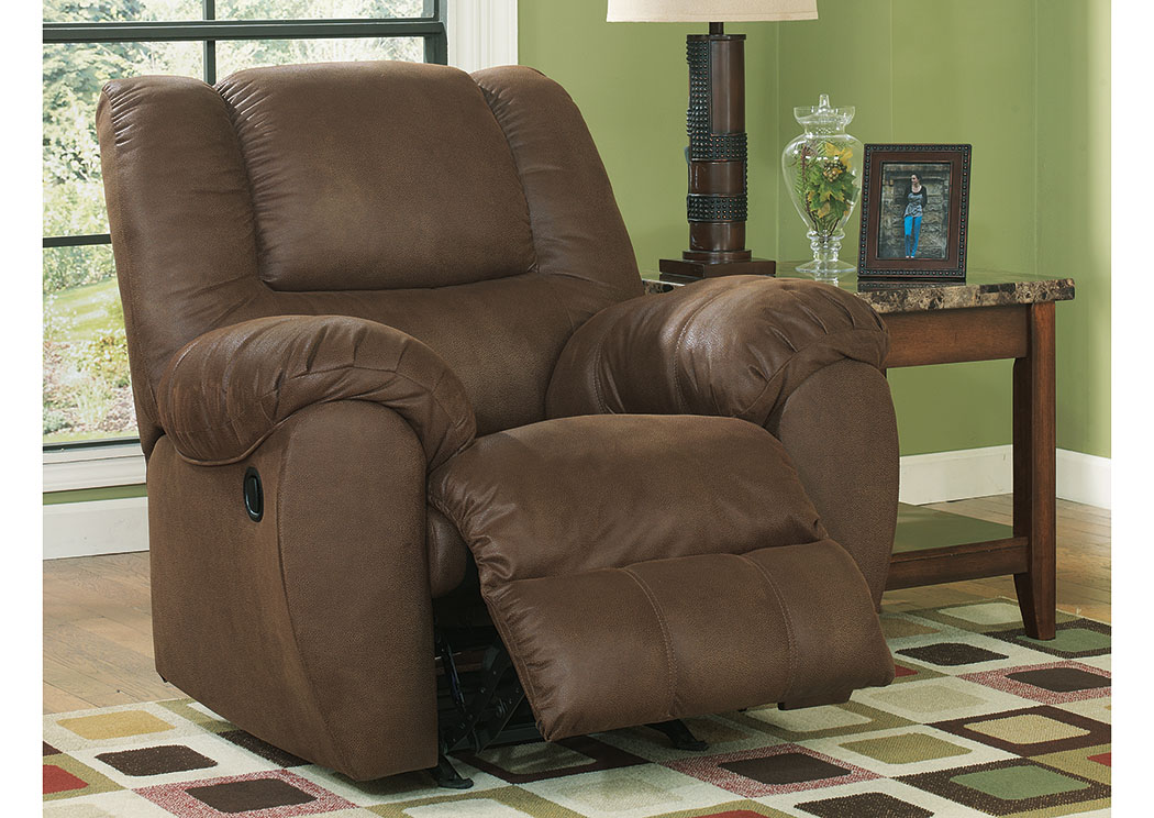 Quarterback Canyon Rocker Recliner,Benchcraft