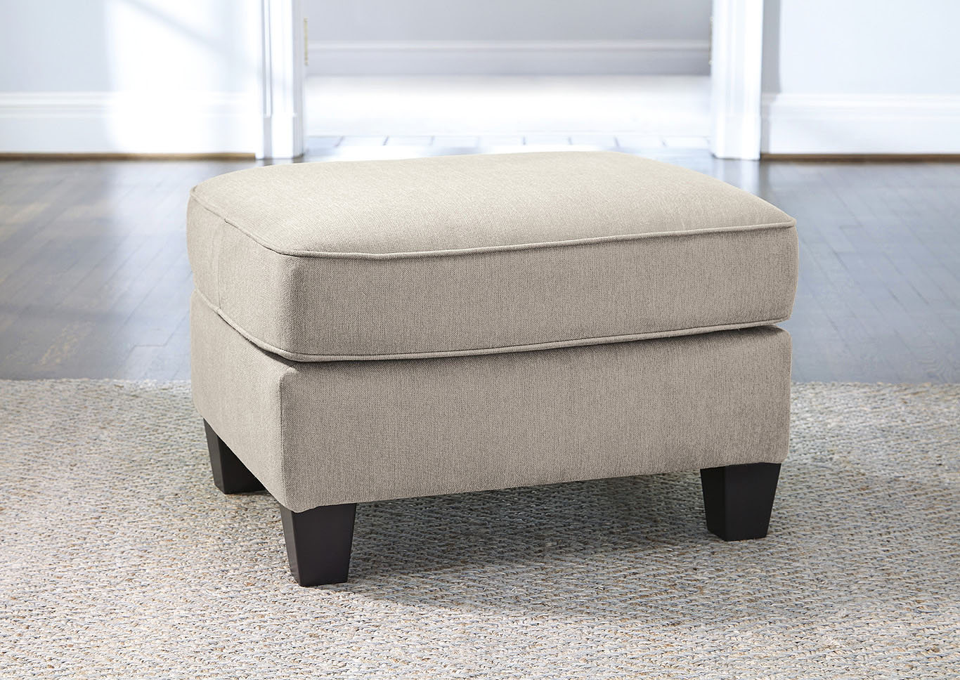 Slagle Pebble Ottoman,Ashley