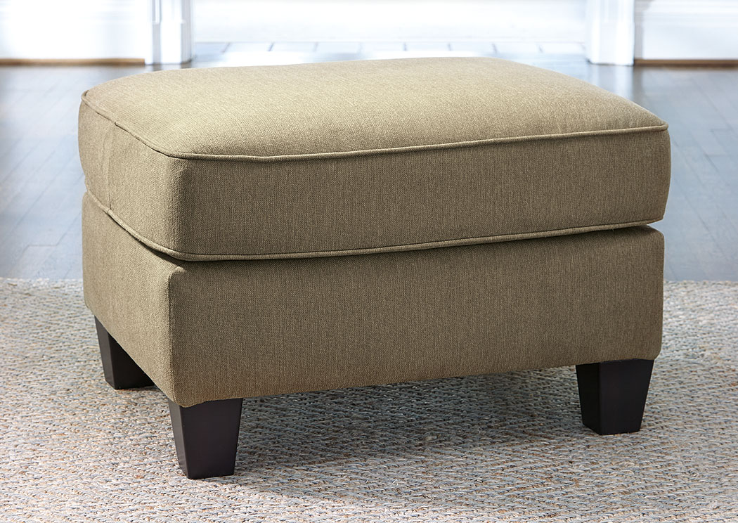 Slagle Mocha Ottoman,Ashley