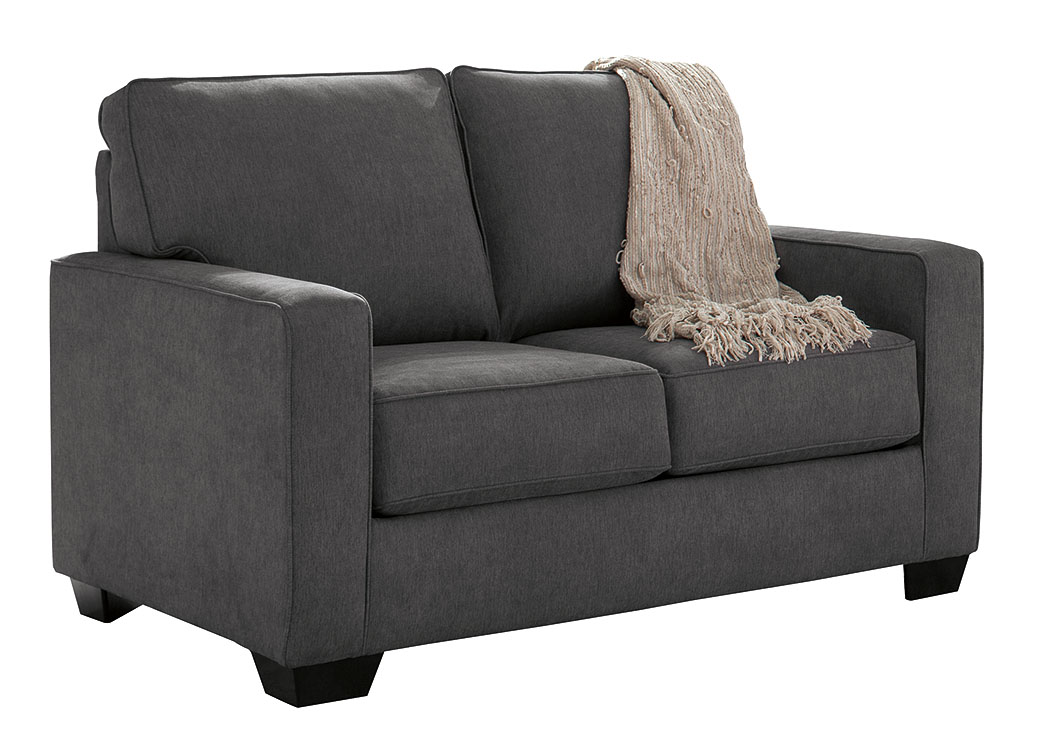 Zeb Charcoal Twin Sofa Sleeper,Signature Design By Ashley