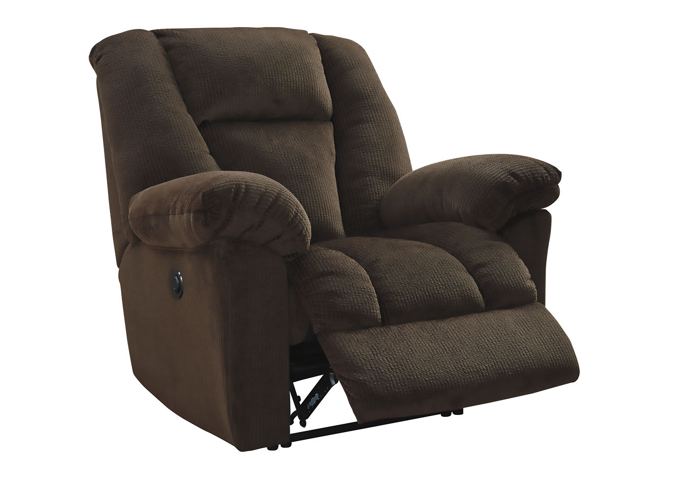 Nimmons Chocolate Power Recliner,Signature Design By Ashley