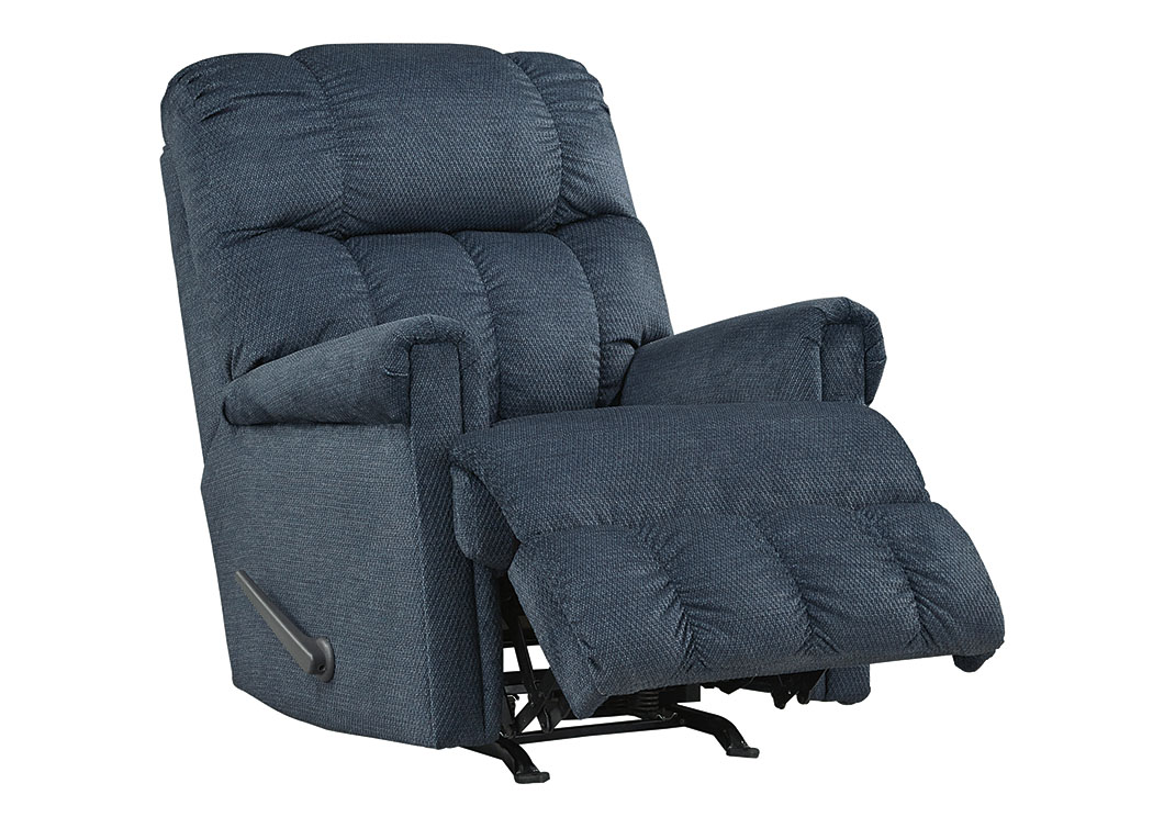 Craggly Midnight Rocker Recliner,Signature Design By Ashley