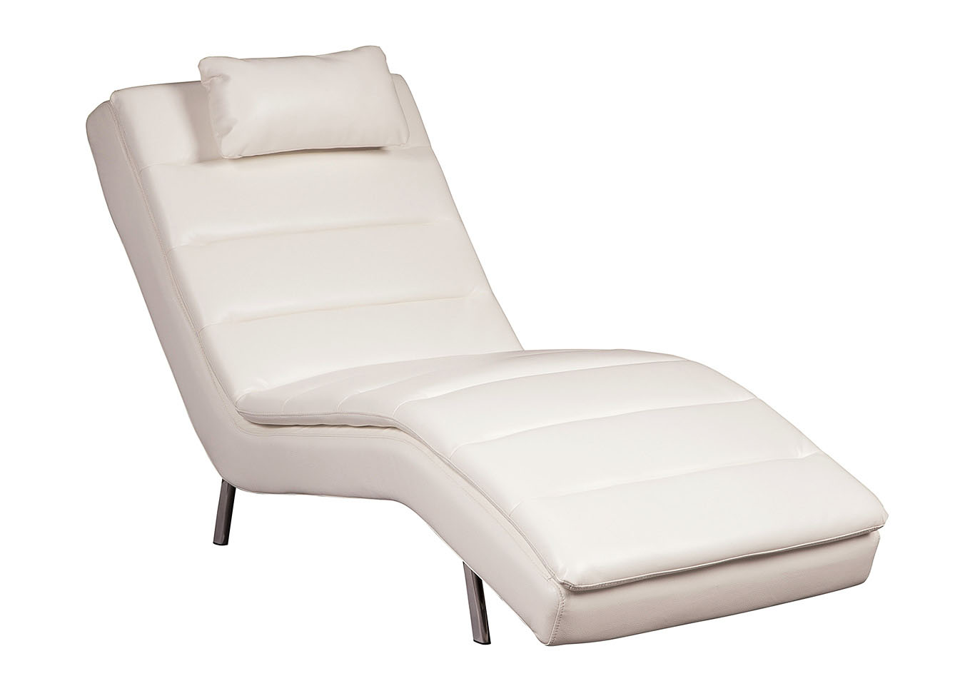 Goslar White Chaise,Signature Design By Ashley