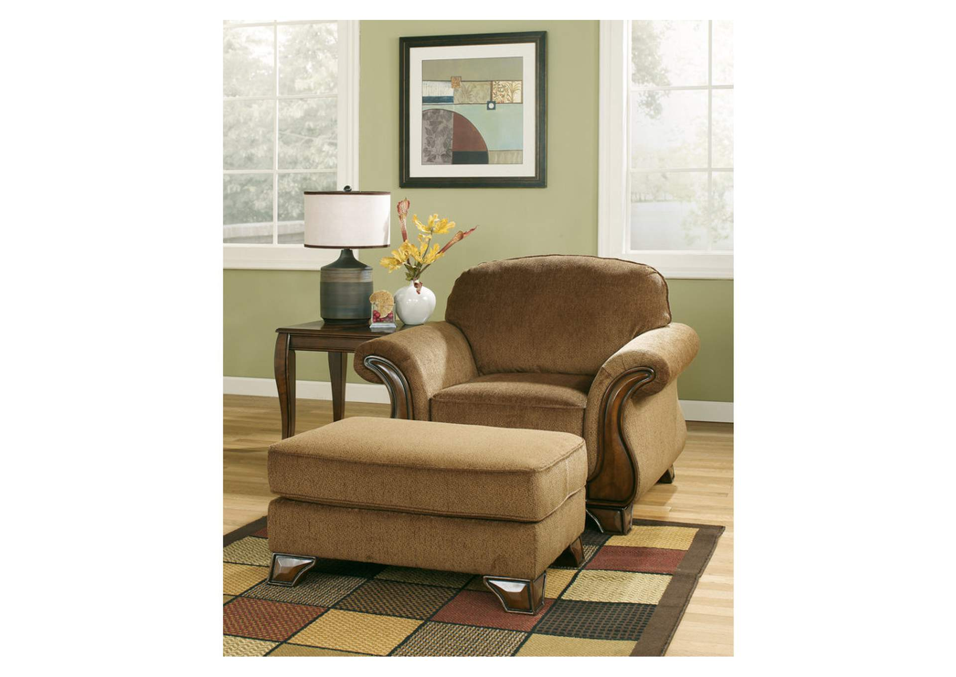 Montgomery Mocha Chair,Signature Design By Ashley