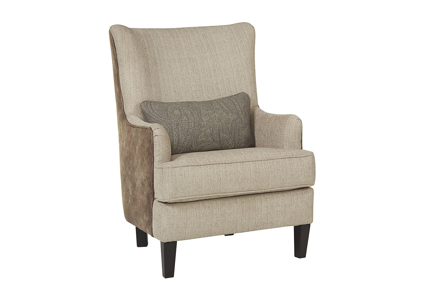 Baxley Jute Accent Chair,Millennium