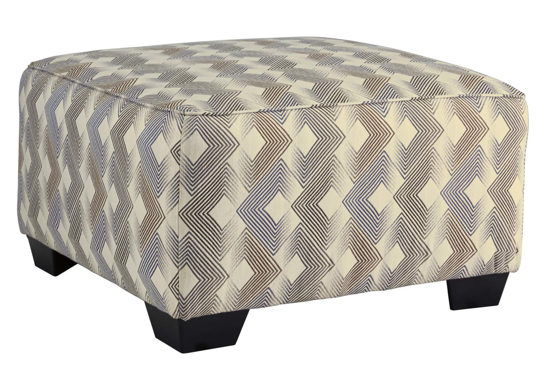 Eltmann Slate Oversized Accent Ottoman,Signature Design By Ashley