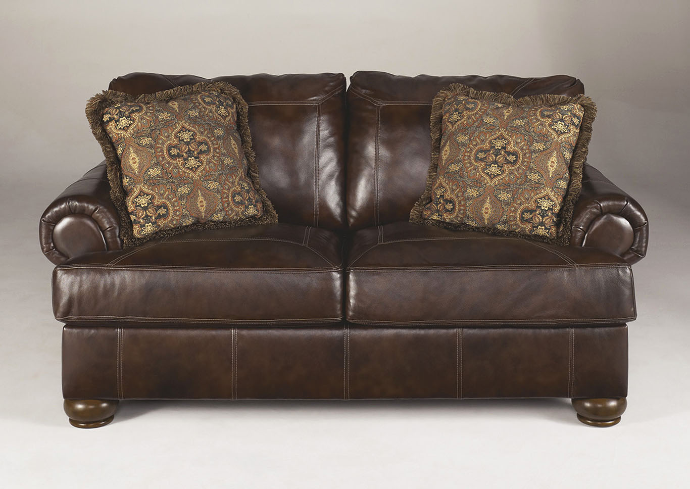 Axiom Walnut Loveseat,Signature Design By Ashley