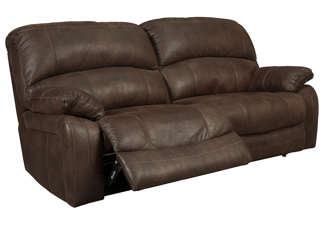 Zavier Truffle 2 Seat Reclining Power Sofa,Signature Design by Ashley